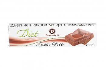 Diet chocolate sugarfree 22g